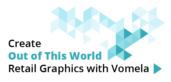 Create Our of This World Retail Graphics with Vomela
