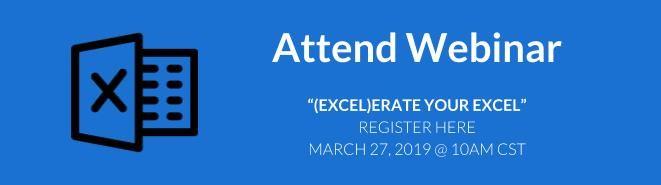 (Excel)erate your excel webinar link