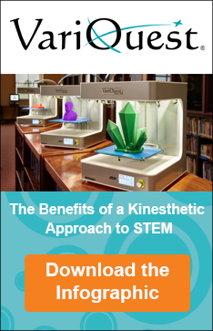 DOWNLOAD THE INFOGRAPHIC TO LEARN ABOUT THE BENEFITS OF TAKING A KINESTHETIC APPROACH TO STEM!