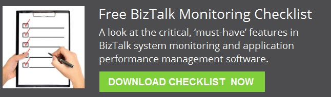 free biztalk monitoring checklist