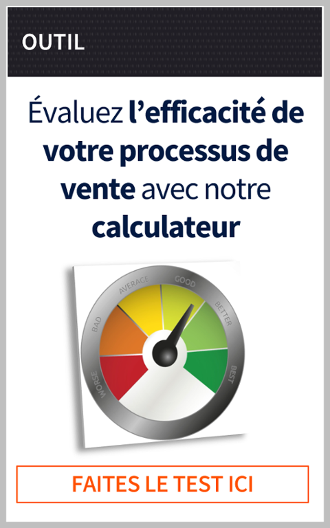 calculateur efficacité processus de vente