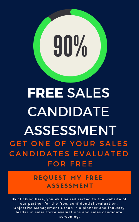 Free Sales Candidate Assessment