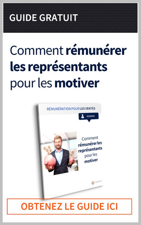 Livre Blanc | Guide pour rémunérer les représentants pour les motiver