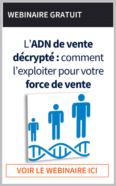 L'ADN de vente décrypté comment l'exploiter pour votre force de vente | Webinaire gratuit | Frédéric Lucas | Prima Ressource