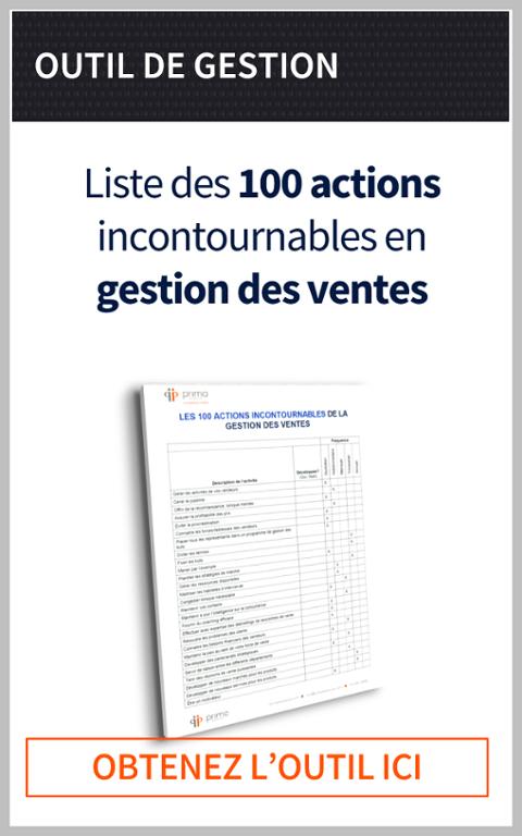 100 points incontournables en gestion des ventes