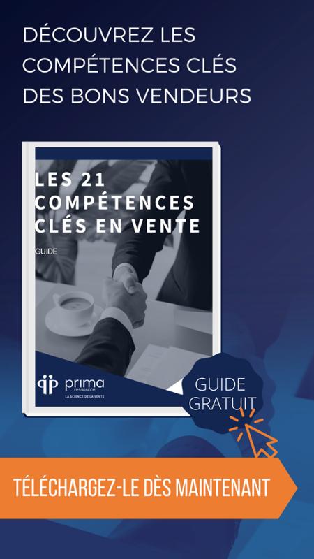 Guide gratuit - Les 21 compétences clés en vente (édition 2019)