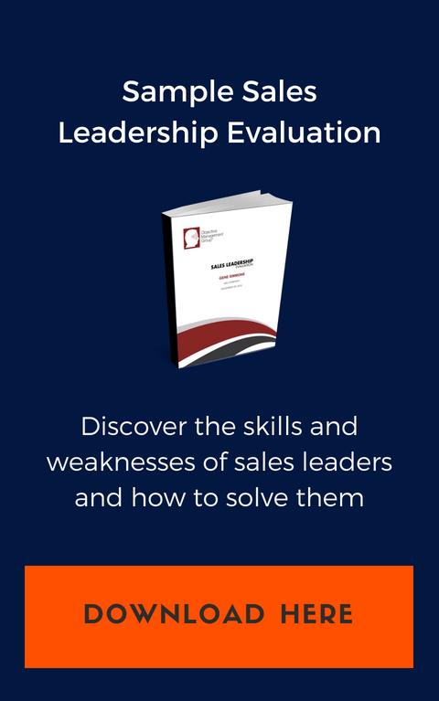 Sample Sales Leadership Evaluation