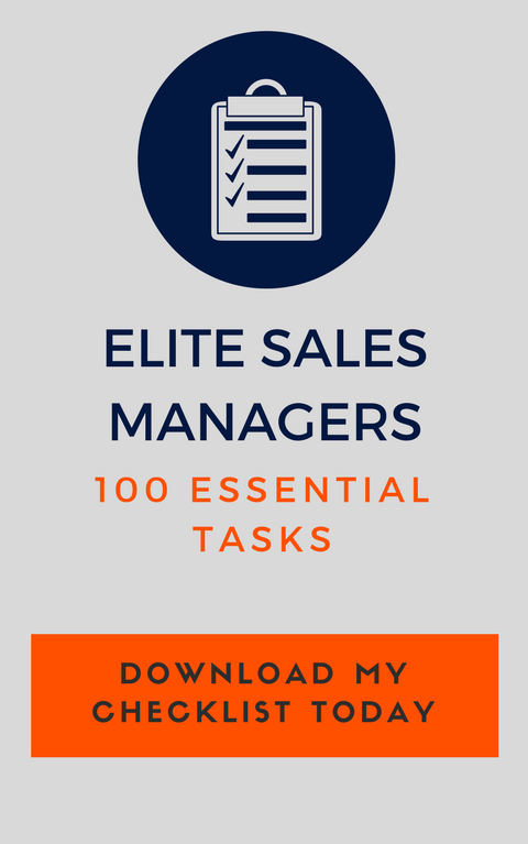 Elite Sales Managers - Their 100 Essential Tasks