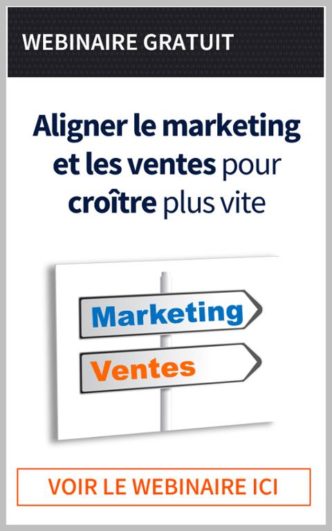 Aligner les ventes et le marketing pour une croissance plus rapide