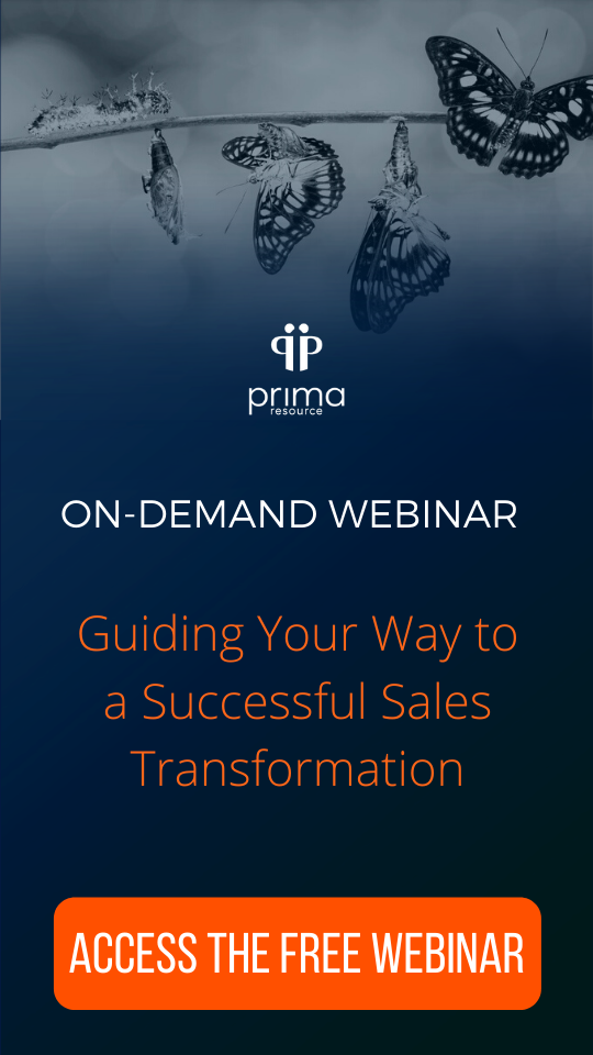 Sales Transformation Webinar Prima Ressource