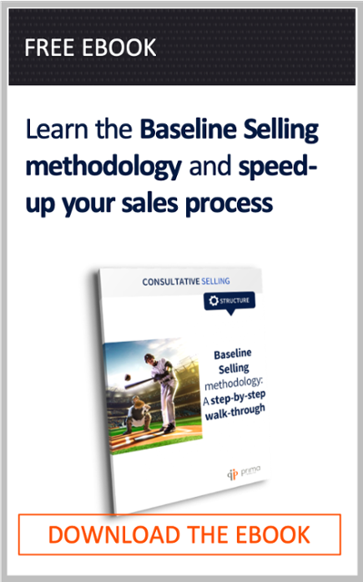 Free Playbook - Baseline Selling Methodology: A Step-by-Step Walk-Through