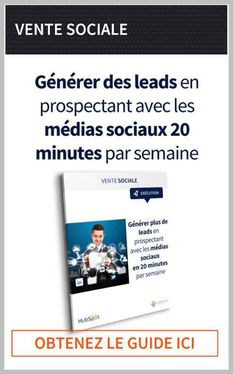 Générer plus de leads en prospectant avec les médias sociaux en 20 minutes par semaine LinkedIn, Twitter, Google+