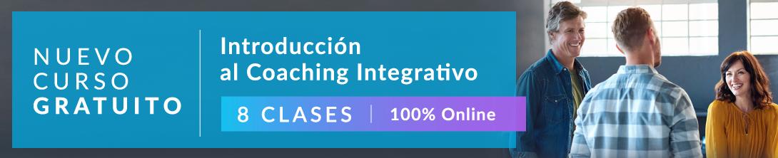 Curso gratis de Coaching Integrativo