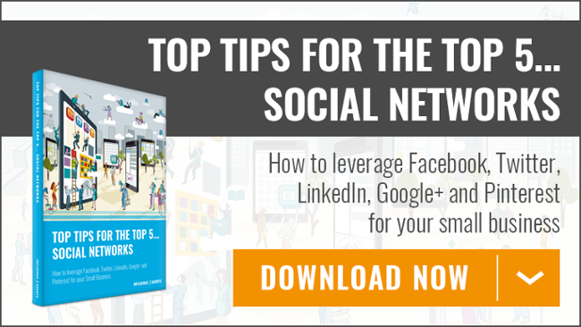 Top Tips for the Top 5 Social Newtwork