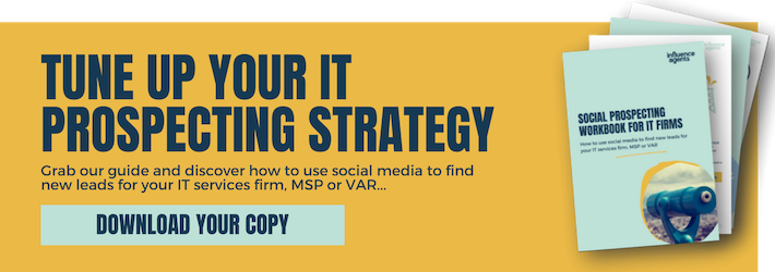 Social prospecting workbook for IT firms: How to use social media to find new leads