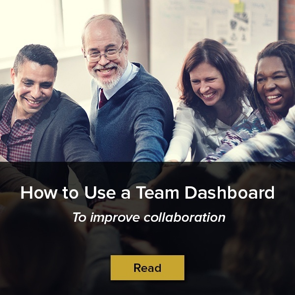 How to use a team dashboard to improve collaboration