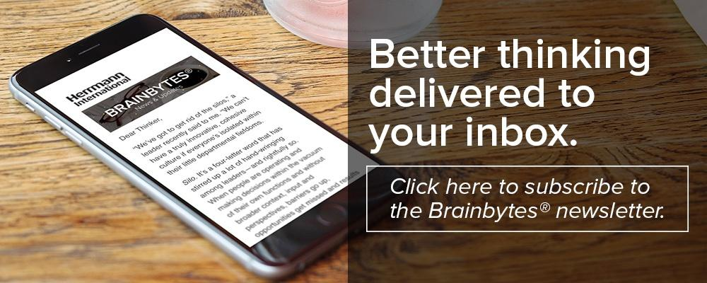 Subscribe to the Brainbytes newsletter
