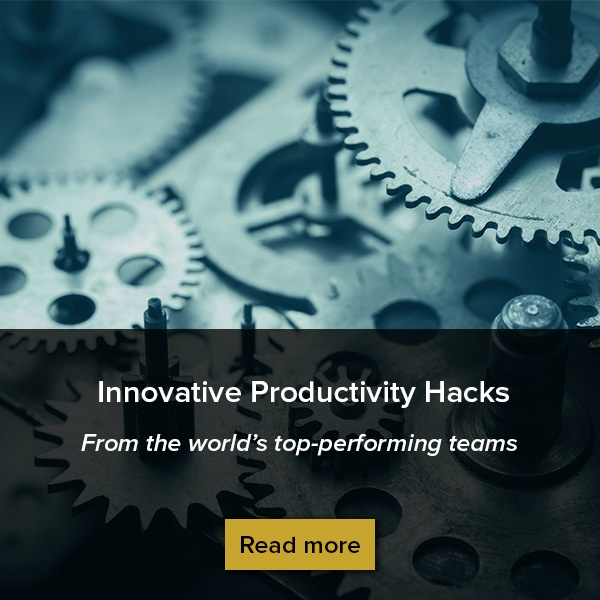 Click here to get productivity tips from the world's top teams