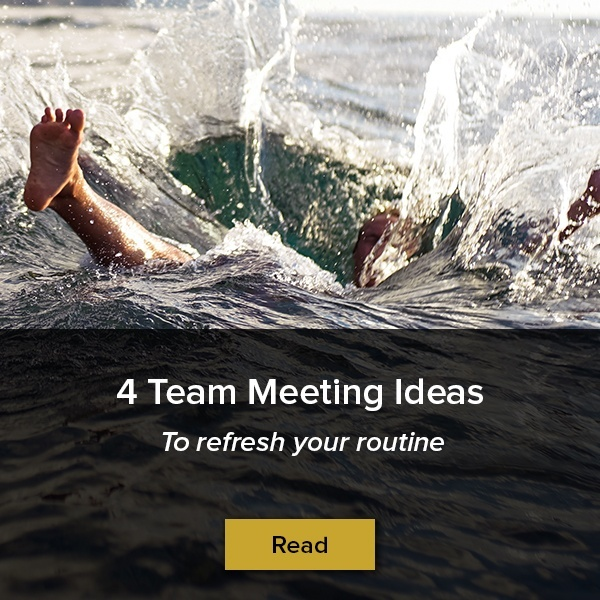 4 team meeting ideas to refresh your routine