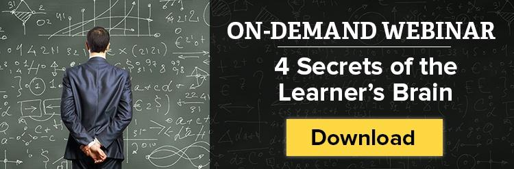 Click here to download the Four Secrets of the Learner's Brain webinar