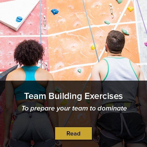 Team building exercises for your team