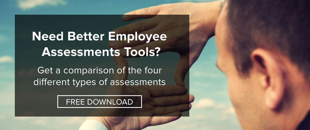 Get a comparison of employee assessment tools