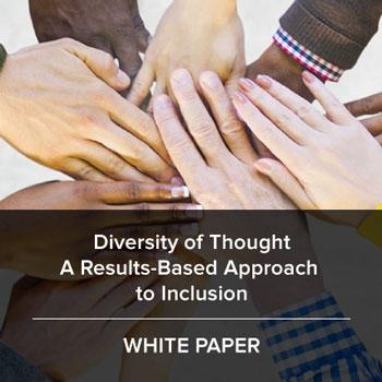 Diversity of Thought White Paper