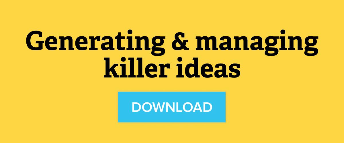 Download Generating & Managing Killer Ideas