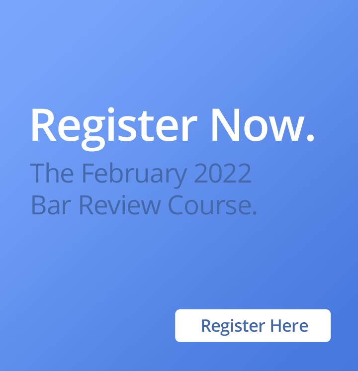 bar exam essay review You vs the bar exam review course with published pass rates $1495 tuition if you pay by october 1 for the february or july 2018 bar exams.