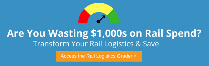 Are you wasting $1000s on rail spend? Get your rail logistics report card ›
