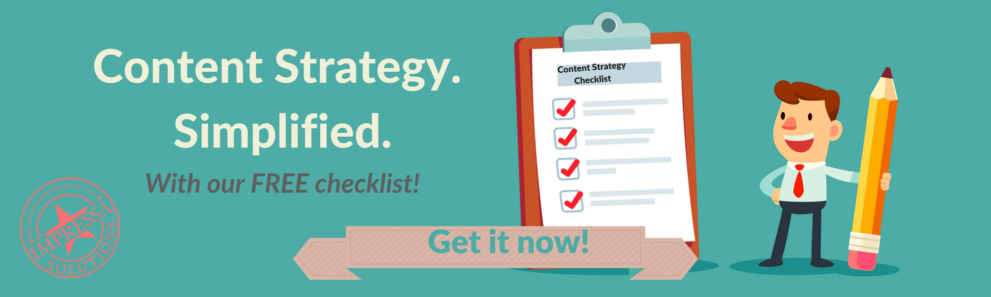 Get your content strategy checklist!