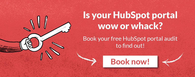 Get a free HubSpot portal audit!