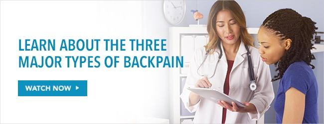 Learn about the types of back pain. Watch Now!