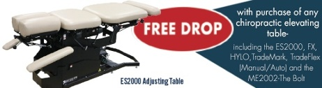 Free DROp! with purchase of any chiropractic elevating table
