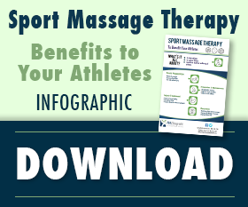 Download the Sport Massage Therapy infographic!
