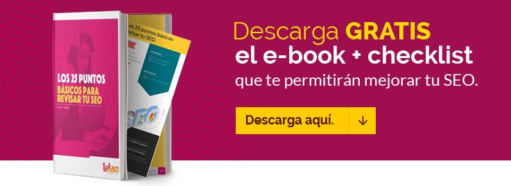 Revisar tu SEO ebook más checklist