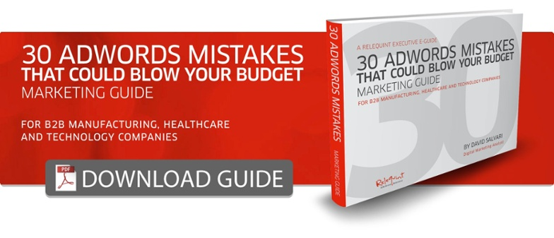 30 AdWords Mistakes Guide