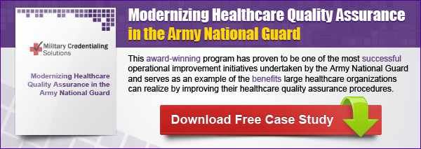 healthcare quality assurance, military healthcare, case study healthcare