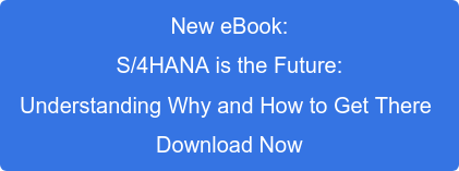 New eBook: S/4HANA is the Future: Understanding Why and How to Get There Download Now