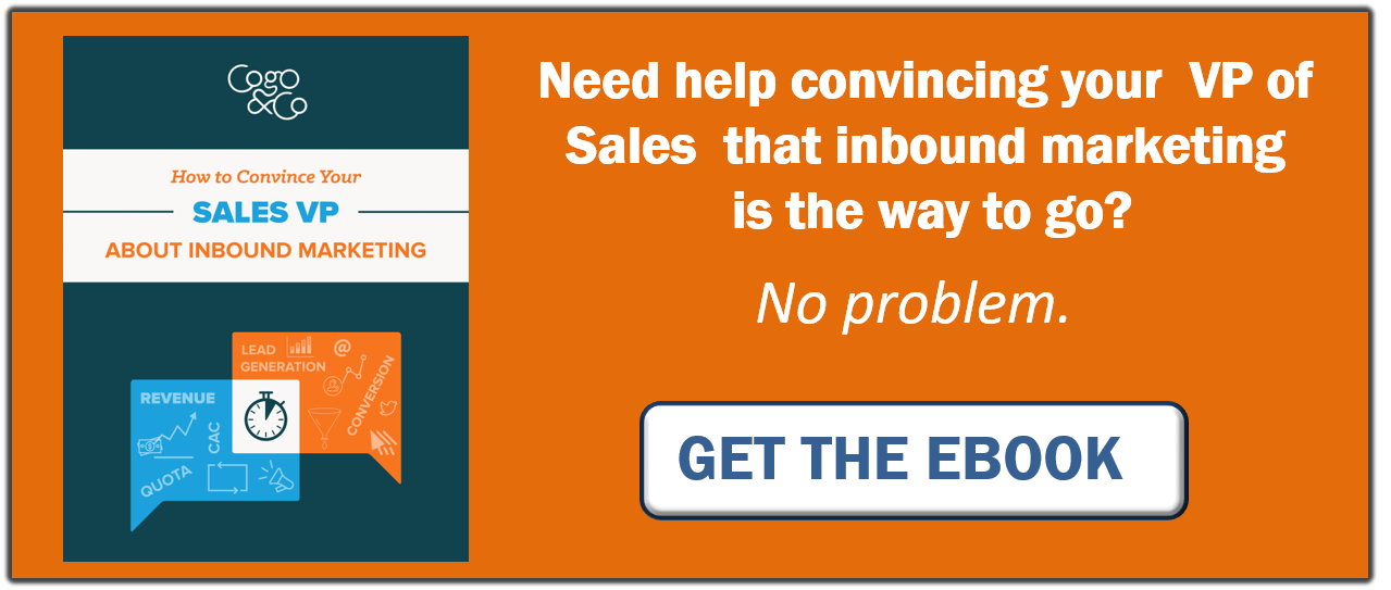 How to Convince Your Sale VP About Inbound