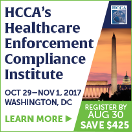 HCCA Compliance Institute registration