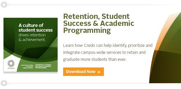 retention, student success & academic programming