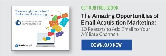 Email acquisition marketing
