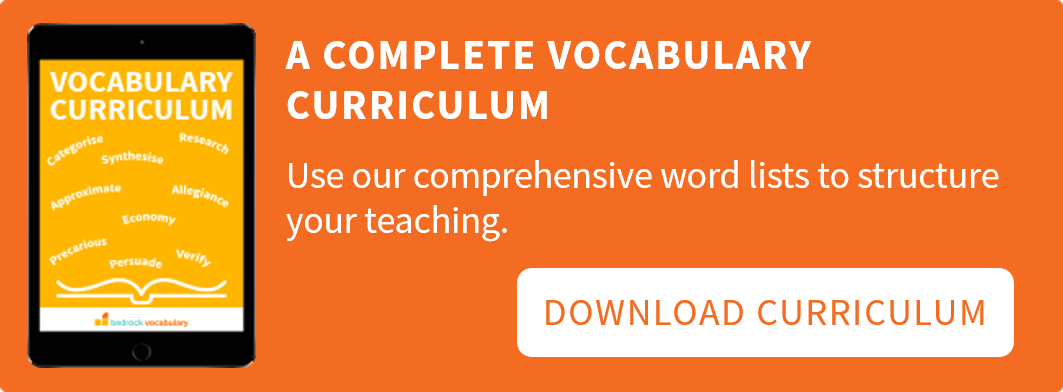 Vocabulary Curriculum Download Button