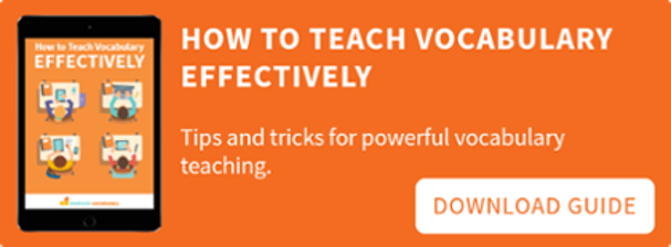 How to Teach Vocabulary Effectively