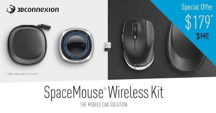 SpaceMouse Wireless Kit