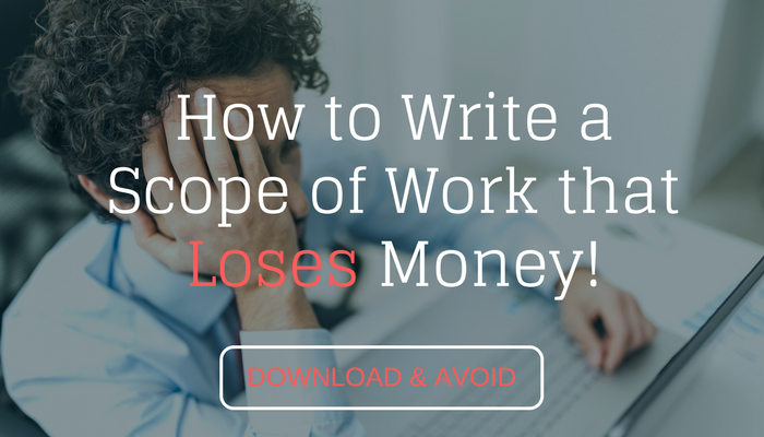 Scope of Work that Loses Money ebook