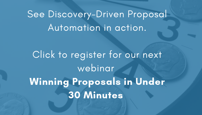 Register for Winning Proposals in Under 30 Minutes webinar