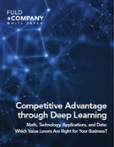 competitive advantage through deep learning