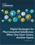 Digital Strategies for Pharmaceutical Salesforces